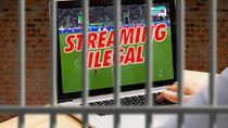 Enam Penjual Konten Streaming Sepakbola Ilegal Jadi Tersangka