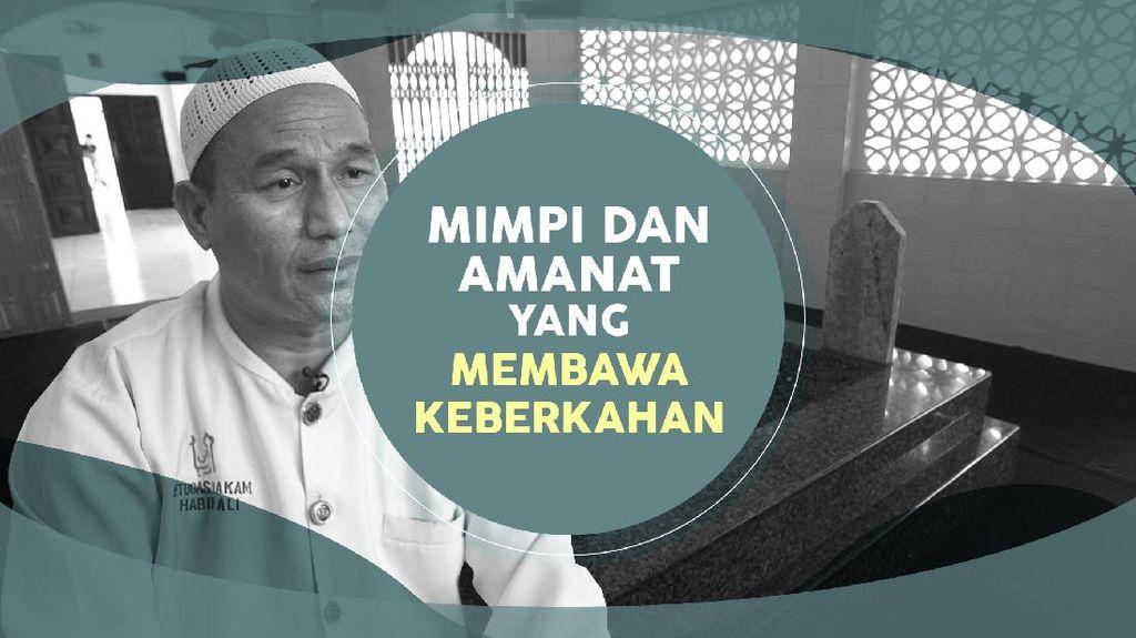 Kisah Penjaga Makam Habib Kwitang, Ilham Lewat Mimpi