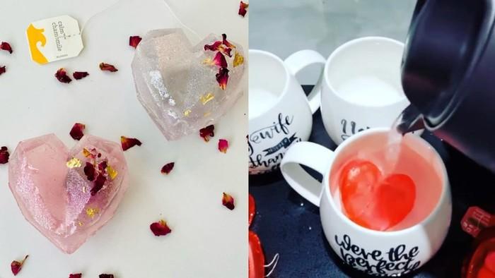 Unik! Ngeteh Romantis Bareng Pasangan dengan Tea Bomb Cantik