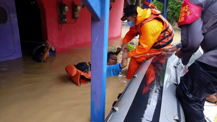 Banjir di Cihaurgeulis Indramayu