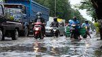 Foto: Pantura Terendam Banjir, Imbas Penurunan Muka Tanah?
