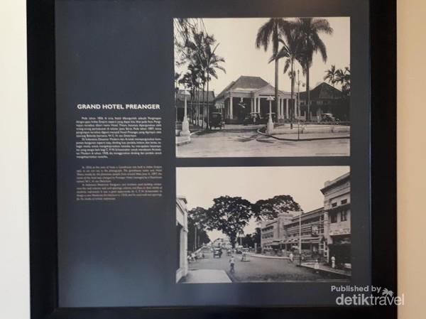 Hotel Grand Preanger sebelum dan sesudah didesain ulang pada tahun 1929. Bangunan yang kini masih berdiri merupakan karya Schoemaker bersama seorang muridnya di THS (sekarang ITB), yakni Soekarno