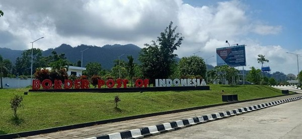 Taman menuju ke Indonesia
