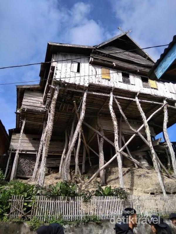 Salah satu contoh rumah di Kampung tua Bitombang, Selayar