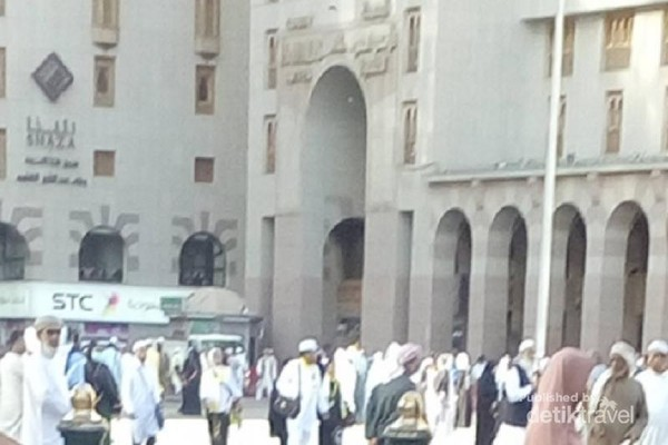 Hotel di sekitar Masjid Nabawi