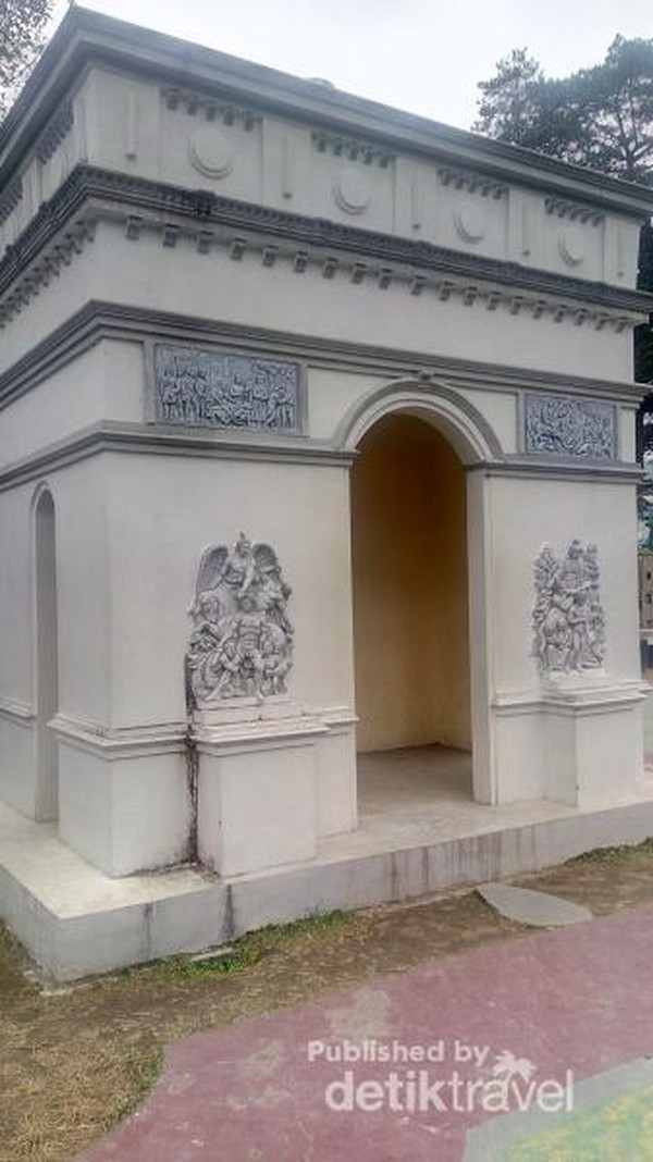 Monumen Bangunan Arc Dengan Triomphe, Prancis