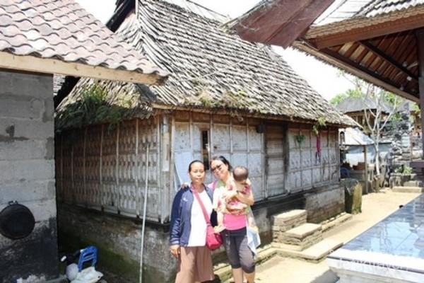 Wisata alam perkampungan Penglipuran