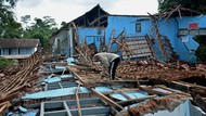 Potret Kerusakan-Dampak Fenomena Tanah Bergerak di Jabar