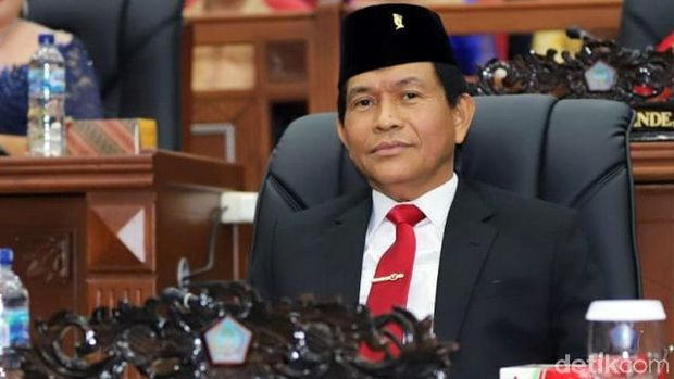 Ketua DPRD Sulut, Franciscus Silangen (Trisno Mais/detikcom)