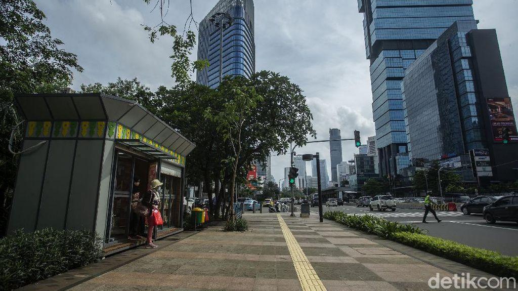 Pemprov DKI Anggarkan Rp 100 Miliar untuk Tata Trotoar