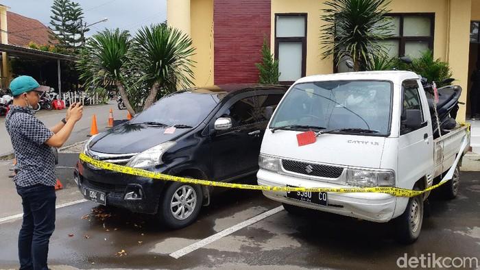 Polisi membekuk komplotan pencuri spesialis mobil pikap di Serang