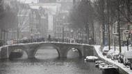 Potret Belanda Dilanda Badai Salju
