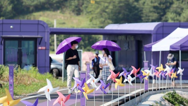 Langkah itu pun terbukti, kini saat masa pandemi pun wisatawan yang datang naik 20% dari tahun lalu. (Shinan County Office)