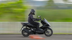 Honda PCX Masa Depan Bakal Punya Airbag, Ini Penampakan Patennya
