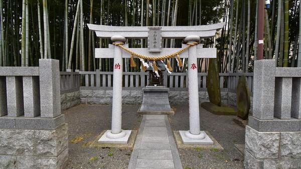 Di salah satu sisinya juga dapat dijumpai gerbang torii khas Jepang serta sebuah altar mini bernama hokora. Secara teknis, Yawata no Yabushirazu bukan merupakan hutan yang ramai seperti pada umumnya (istimewa)