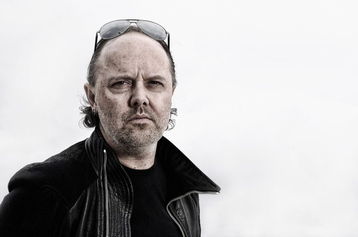 CANNES, FRANCE - MAY 16:  (EDITORS NOTE: This image has been digitally altered) Lars Ulrich of Metallica during a portrait session at The 66th Annual Cannes Film Festival at the Palais des Festivals on May 16, 2013 in Cannes, France.  (Photo by Gareth Cattermole/Getty Images)