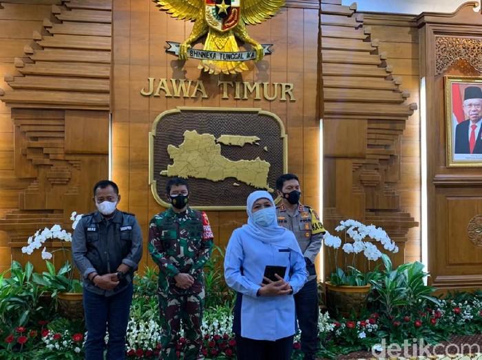 PPKM Mikro mulai digelar hari ini. Di Jawa Timur, ada 2 kabupaten/kota yang masuk zona merah COVID-19.