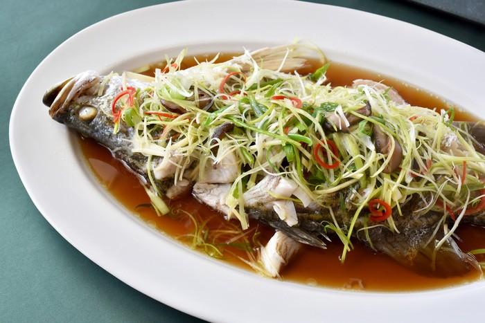 Ikan Kakap Kukus
