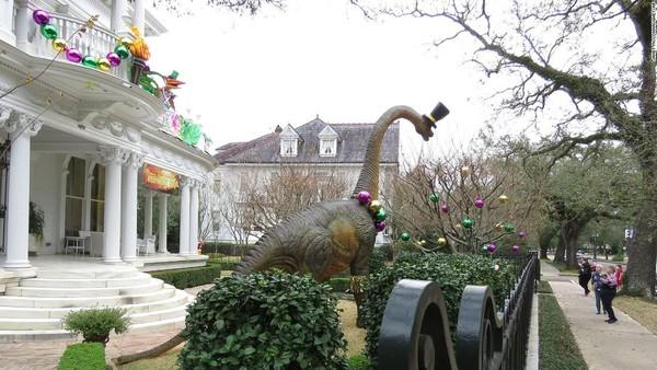 Tahun ini Mardi Gras tetap dilaksanakan, tapi tak berparade. (CNN)
