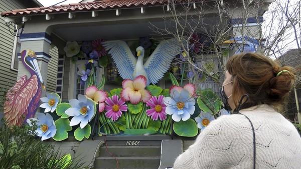Mardi Gras adalah karnaval besar dan dinanti di New Orleans tiap tahun. (CNN)