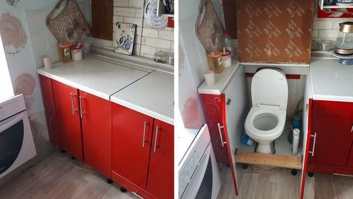 Tidak semua renovasi berakhir sempurna. Berikut ini contoh renovasi rumah dan barang yang hasilnya bikin tepuk jidat.