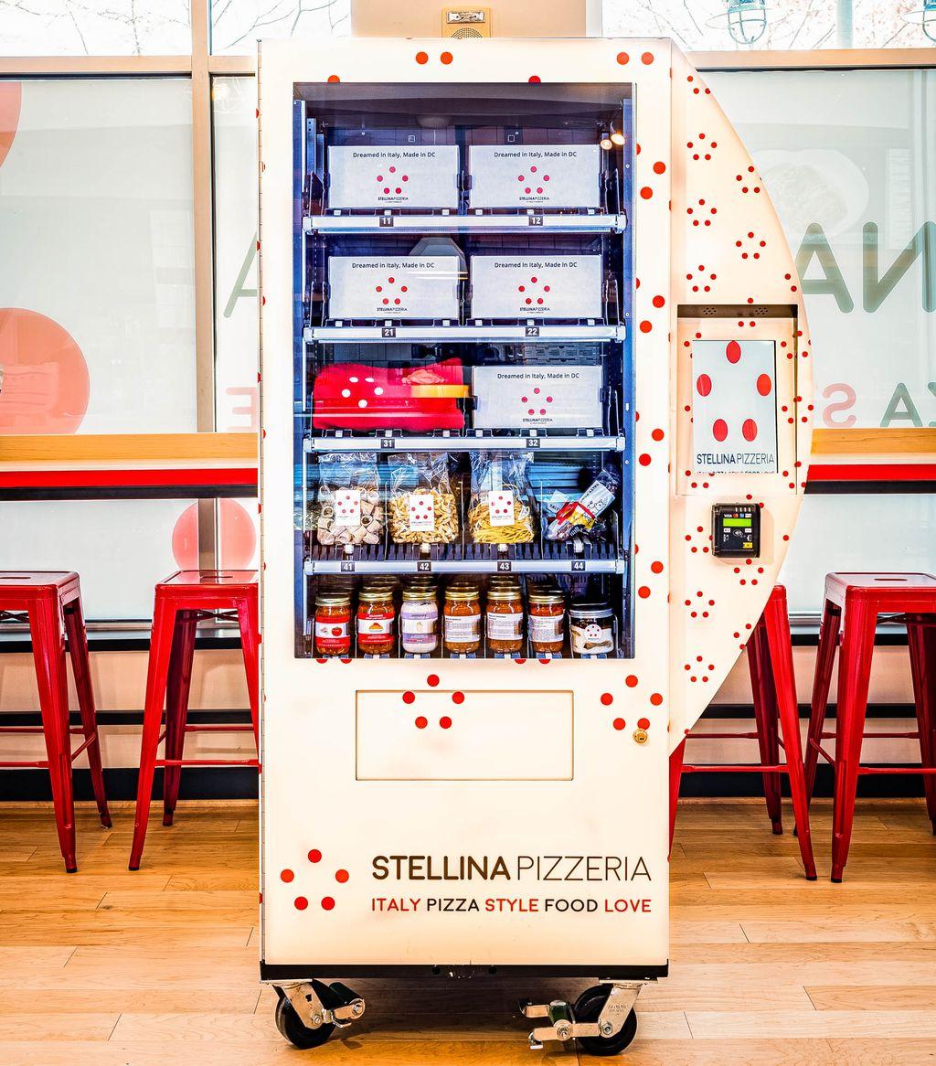 Vending Machine Pasta Ini Jadi Solusi Restoran Italia Berjualan