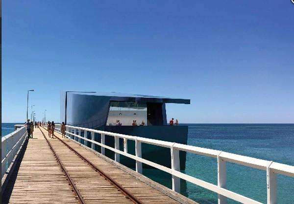 Australian Underwater Discovery Centre nanti akan menjadi observatorium kaut alami terbesar di Australia dengan membentang di laut sekitar 2 km.