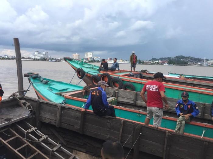 Dua orang hilang diduga tenggelam di Sungai Mahakam saat kapalnya disidak polisi (dok Istimewa)