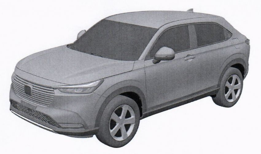 Gambaran Honda HR-V Generasi Baru