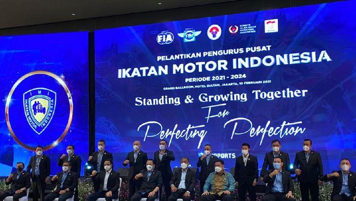 Ikatan Motor Indonesia (IMI) 2021-2025