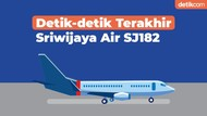 Detik-detik Terakhir Sriwijaya Air SJ182