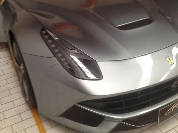 Kejagung Sita Mobil Ferrari Milik Tersangka Asabri Heru Hidayat.