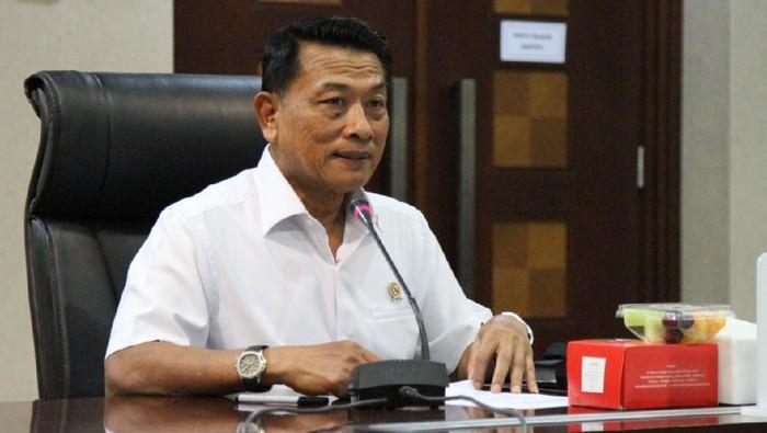 Kepala Staf Kepresidenan Moeldoko bahas pembentukan Gugus Tugas RUU PKS dengan Menteri PPA Bintang dan Wamenkumham (Foto: dok. KSP)