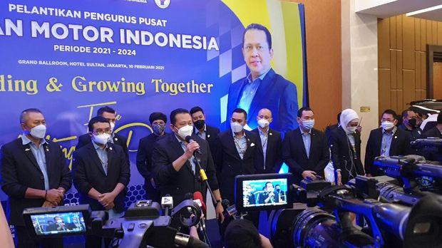 Ketua Umum IMI Pusat Bambang Soesatyo (Bamsoet)
