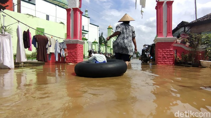 Kondisi banjir di Pati, 10/2/2021