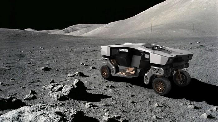 Konsep Mobil Penjelajah Bulan Hyundai, Bisa Jalan Kaki