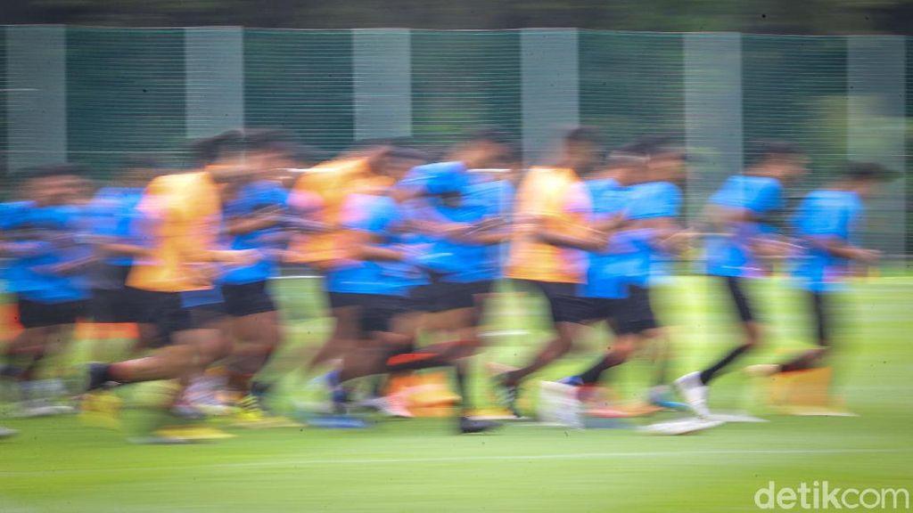 Timnas Gelar Latihan Perdana untuk Persiapan Sea Games