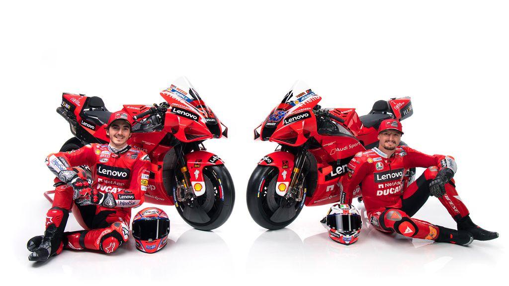 Motor MotoGP Ducati 2021