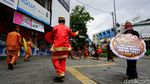 Unik! Ada Miniatur Indonesia Saat Warga Solo Sambut Imlek