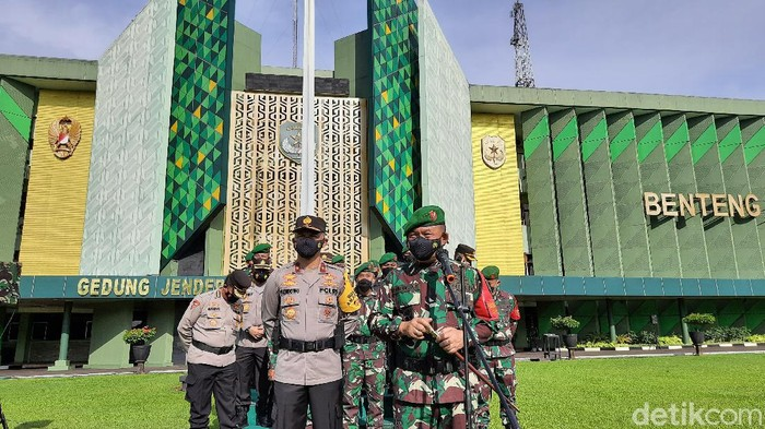 Pangdam Jaya Mayjen TNI Dudung Abdurachman  (Rahmat fathan-detikcom)