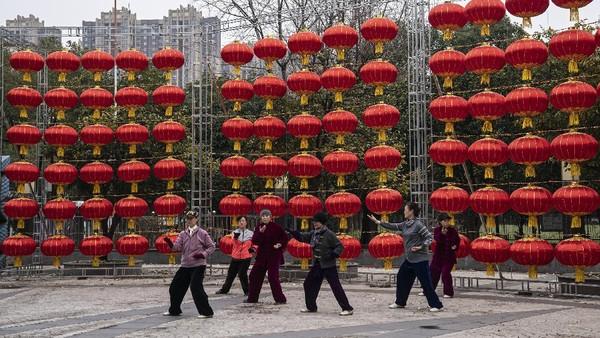 Tiongkok menandai Festival Musim Semi yang dimulai dengan Tahun Baru Imlek pada 12 Februari.