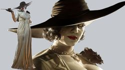 Resident Evil Village Lady Dimitrescu Terinspirasi Karakter Mia dari RE7