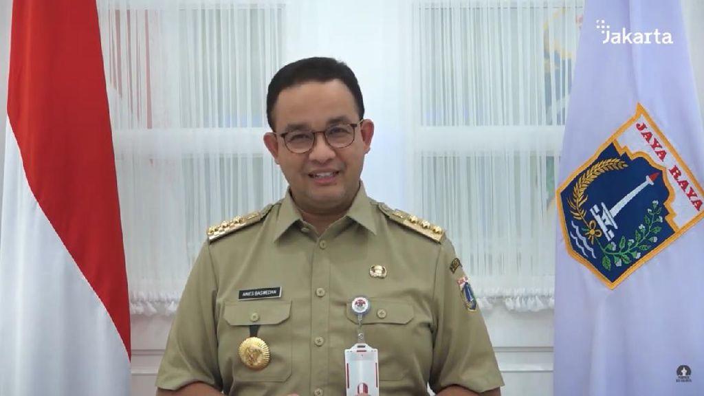 Anies Bicara Kebijakan PSBB-KSBB Jalan Berbarengan di DKI