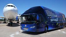 Ini Dia 10 Foto Bus Mewah Milik Klub Sepakbola Eropa