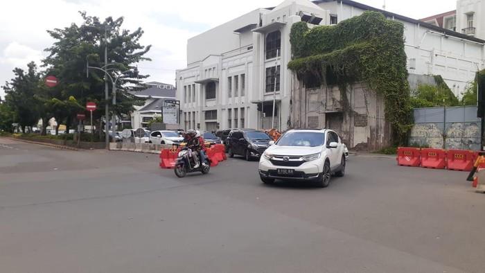 Dishub DKI Jakarta berlakukan sistem buka tutup di Kawasan LEZ Kota Tua.