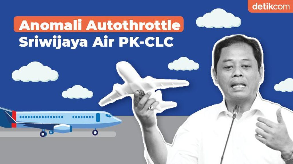 Anomali Autothrottle Sriwijaya Air PK-CLC