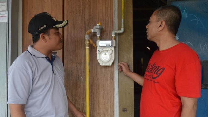 Jaringan gas PGN untuk rumah tangga di Blora