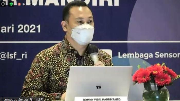 Ketua Lembaga Sensor Film, Rommy Fibri Hardiyanto