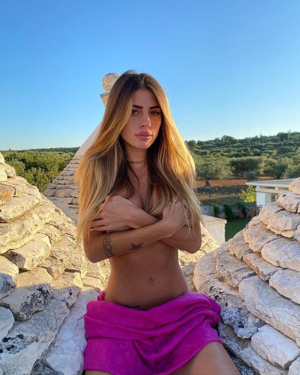 Chiara Nasti adalah model berusia 23 tahun. (Instagram/Nastilove)