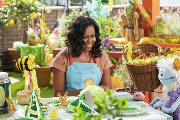 Michelle Obama Akan Rilis Serial Memasak Anak-Anak Bersama Netflix